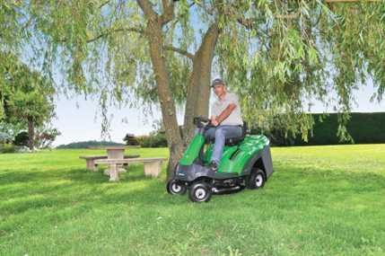 Autoportées - Tracteurs de jardin