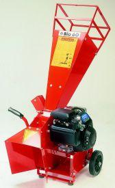Broyeur thermique CARAVAGGI BIO 60 T avec moteur honda