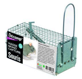 Nasse pour souris monocapture Décamp'Radical