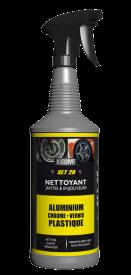 SET 28 remplace avantageusement tous les nettoyants solvantés utilisés pour le nettoyage des jantes.