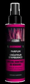 Le parfum HARMONIE a été créé pour s'ouvrir aux autres, faciliter l'accueil en retrouvant des couleurs subtiles maternelles.