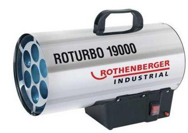 Chauffage de chantier avec allumage piezo Rothenberger