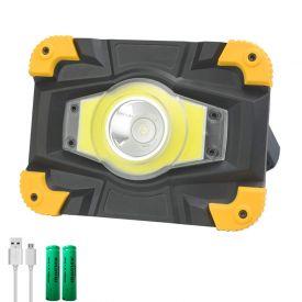 Projecteur rechargeable multi-fonctions