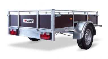 Remorque bois non freinée ERDE LC200