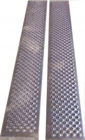 Paire de rampes aluminium charge 1000 kg