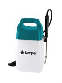Pulvérisateur à batterie Keeper Forest 6 - Ce pulvérisateur électrique est exclusif pour l'application de liquides, tels que des herbicides, des fongicides ou pour l'arrosage de vos plantes.