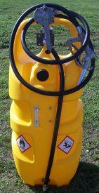 Réservoir mobile à gasoil 110 litres avec pompe manuelle
